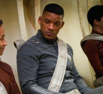 Will Smith et son fils Jaden dans 'After Earth'