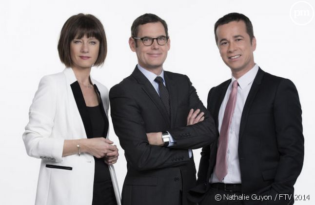 Carole Gaessler, Francis Letellier et Michel Dumoret