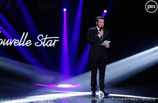 """Benjamin Castaldi présente """"Nouvelle Star"""" sur D8"""