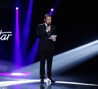 Benjamin Castaldi présente 'Nouvelle Star' sur D8