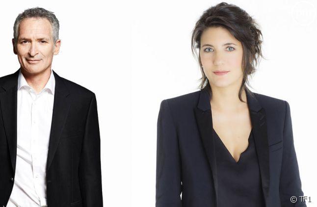 Christian Jeanpierre et Estelle Denis