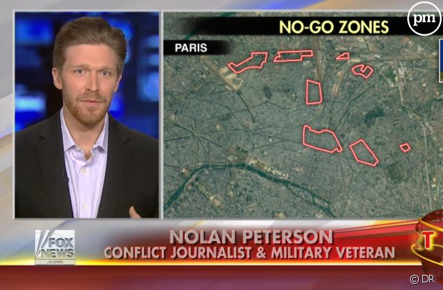 "Les fameuses ""no-go zones"" de Paris selon Fox News"