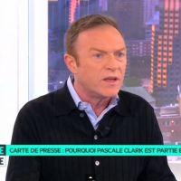 Carte de presse : Christophe Hondelatte se dit