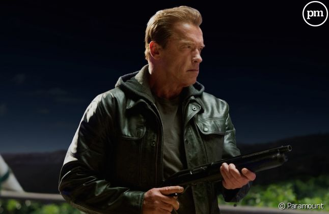 "Arnold Schwarzenegger dans ""Terminator : Genisys"""
