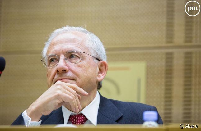 <span>Olivier Schrameck, le président du CSA</span>