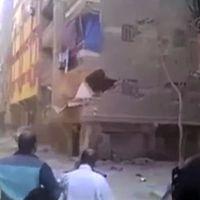 Séisme au Népal : TF1 diffuse des images d'un immeuble qui s'effondre... en Egypte