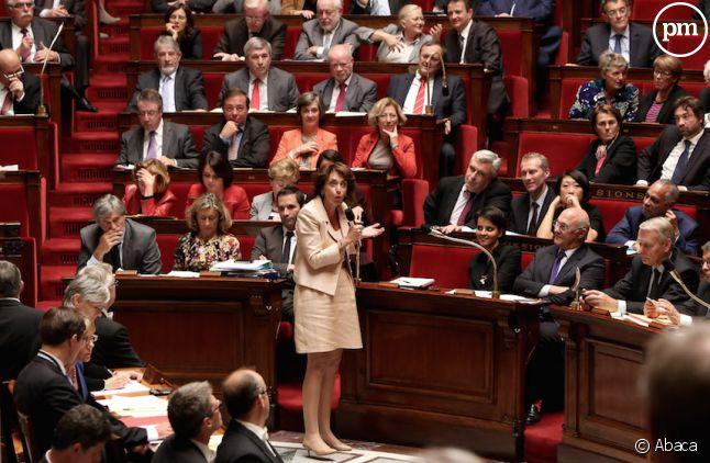 Marisol Tourraine à l'Assemblée nationale
