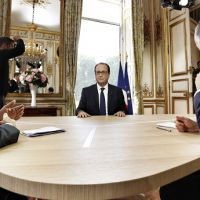 Interview du 14 juillet : François Hollande interrogé par Claire Chazal et David Pujadas