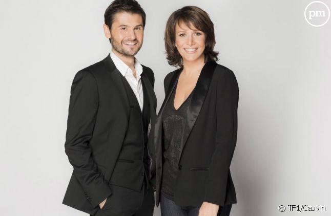 """Christophe Beaugrand et Carole Rousseau pour """"La France passe le test"""""""