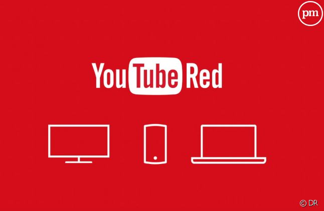 """Le service """"YouTube Red""""."""