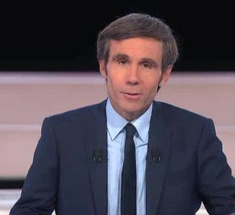 David Pujadas, au '20 heures' de France 2.