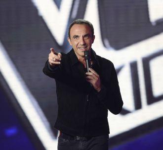 Nikos Aliagas présente 'The Voice Kids'