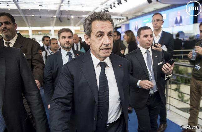 Nicolas Sarkozy invité spécial de Ruth Elkrief sur BFMTV jeudi 29 octobre.