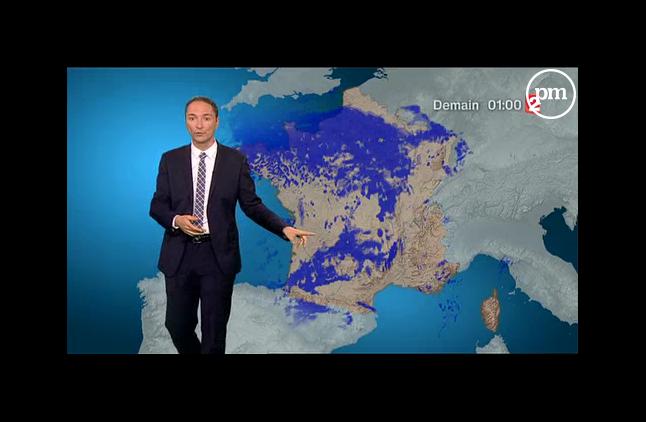 Philippe Verdier, chef du service météo sur France 2.