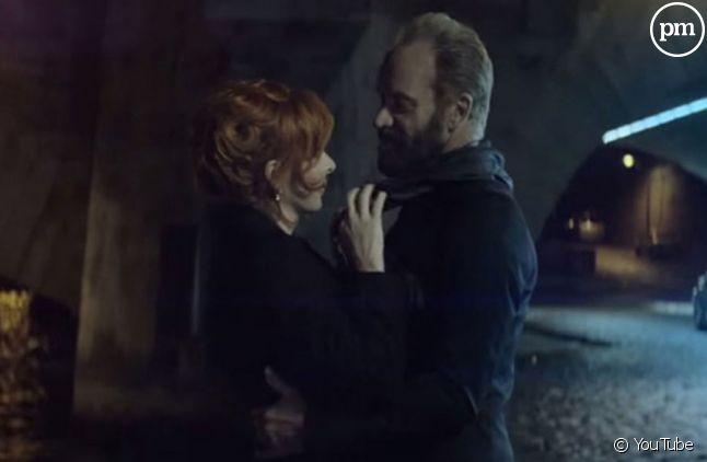 """Mylène Farmer et Sting dans le clip de """"Stolen Car"""""""