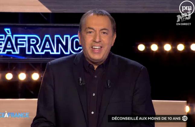 """Jean-Marc Morandini dans """"Face à France"""";"""