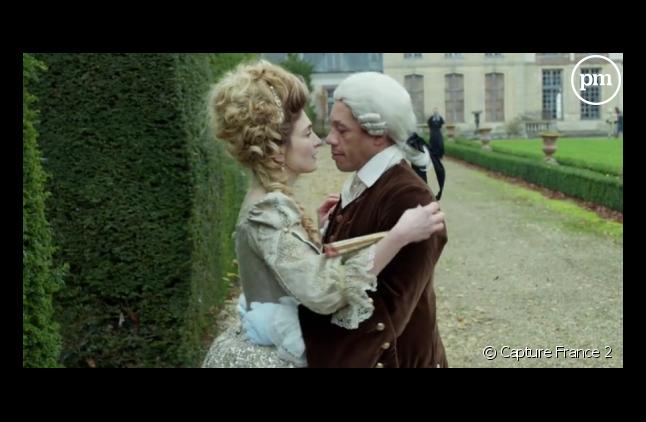 """JoeyStarr et Julie Gayet dans """"Dix pour cent"""""""