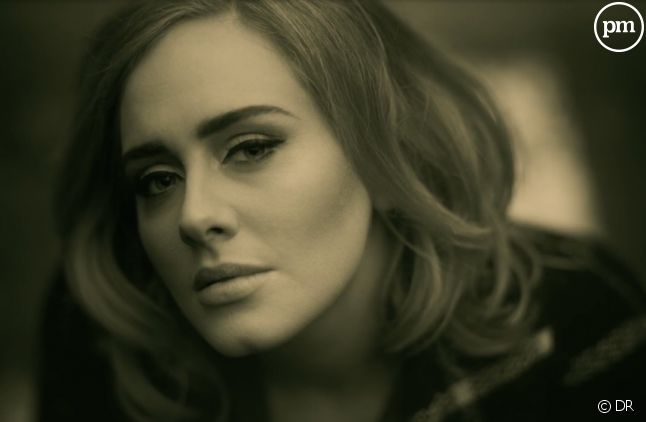 "Adele dans le clip de ""Hello"""
