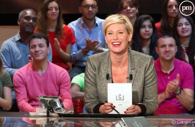 """Maïtena Biraben aux commandes du """"Grand Journal"""""""