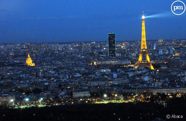 Paris vu depuis la Tour First de La Défense