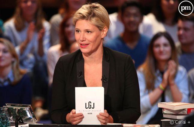 "Maïtena Biraben présente ""Le Grand Journal""."