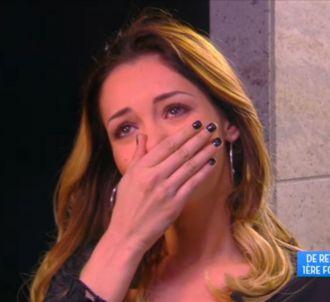 Nabilla en larmes sur 'TPMP'