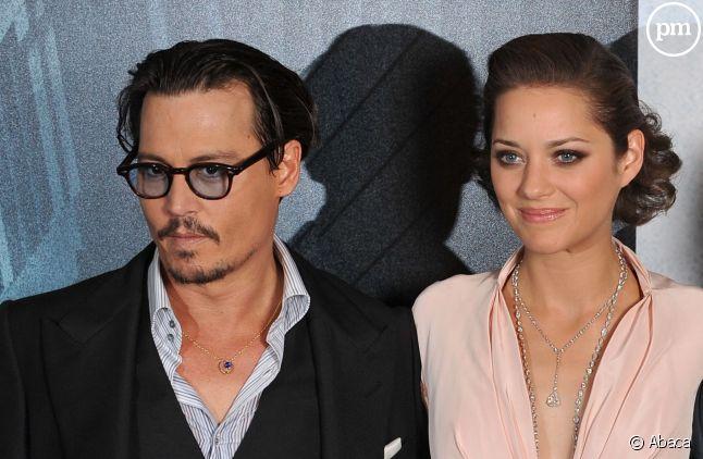 Johnny Depp et Marion Cotillard.