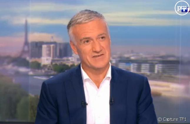 Hier Didier Deschamps était l'invité du 20 Heures de TF1
