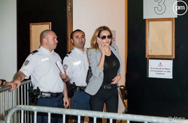 Nabilla au tribunal de Nanterre aujourd'hui