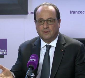 François Hollande était ce matin l'invité de France...