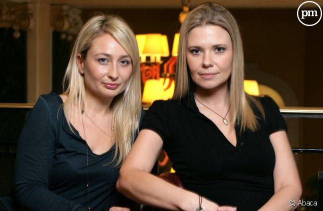 Aude Lancelin (à droite)