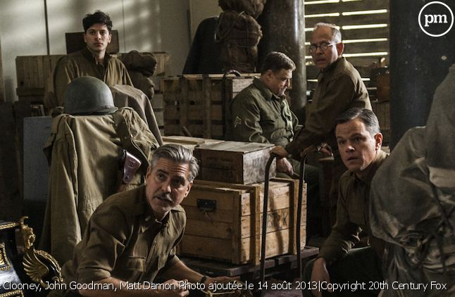 """Monuments Men"" de George Clooney"