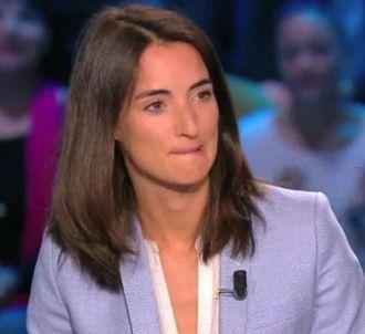Arnaud Tsamère agacé par une question à Margot Laffite au...