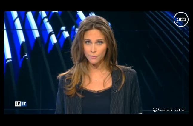 Ophélie Meunier avait présenté cet été le JT de Canal+