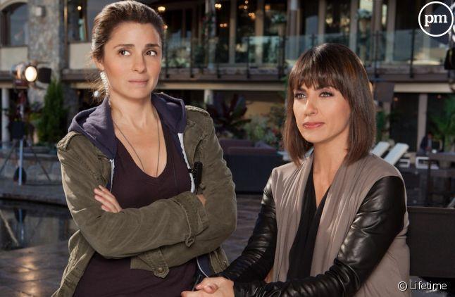 """Shiri Appleby et Constance Zimmer dans """"UnReal"""""""