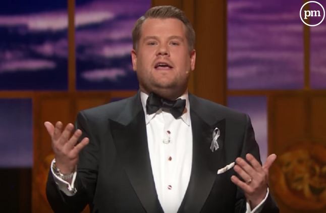James Corden hier lors de 70e nuit des Tony Awards