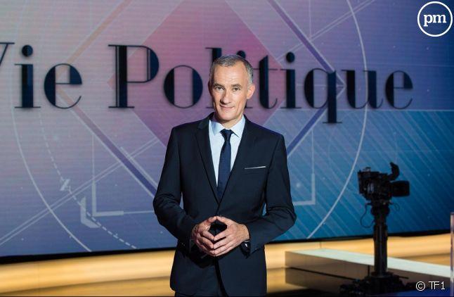 """Gilles Bouleau sur le plateau de """"Vie politique"""""""