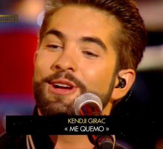 'Me Quemo' de Kendji Girac sacrée 'Chanson de l'année'...