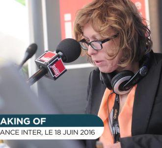 Les adieux de Pascale Clark à Inter.