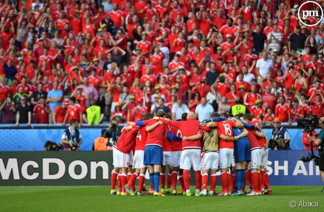 Le Pays de Galles en extase après sa victoire contre l'Irlande du Nord