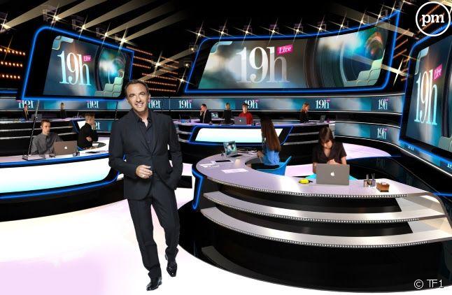 """Le plateau de """"19H Live"""""""