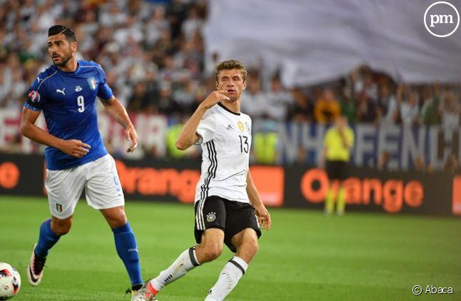Allemagne/Italie hier sur TF1