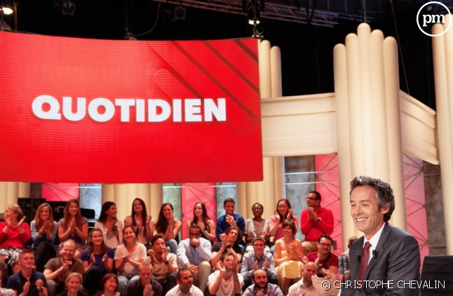 """Yann Barthès aux commandes de """"Quotidien"""" sur TMC"""