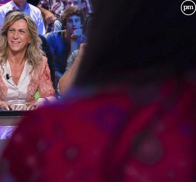 """Brigitte Boréale, dans """"Le Grand Journal"""", Canal+."""