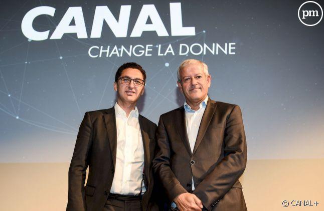 Maxime Saada (à gauche) et Frank Cadoret aujourd'hui