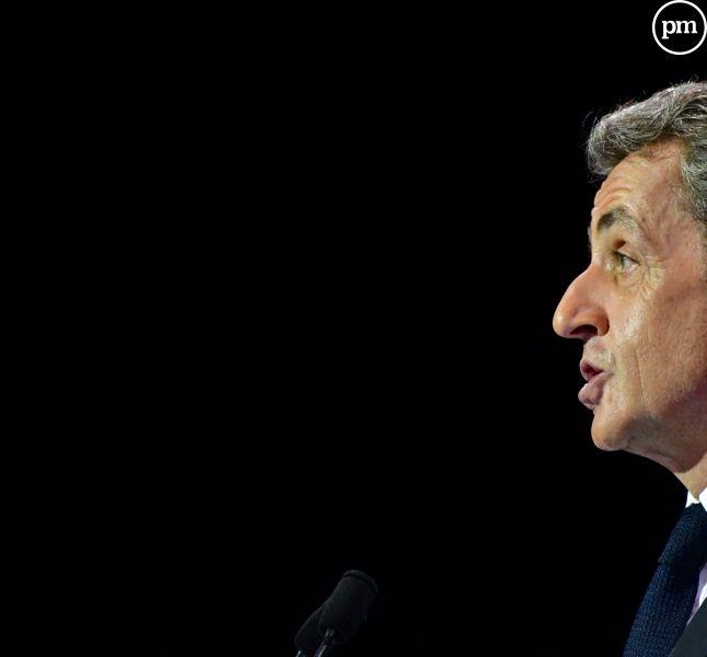 Nicolas Sarkozy, candidat à la primaire.