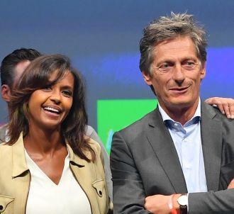 Karine Le Marchand et Nicolas de Tavernost