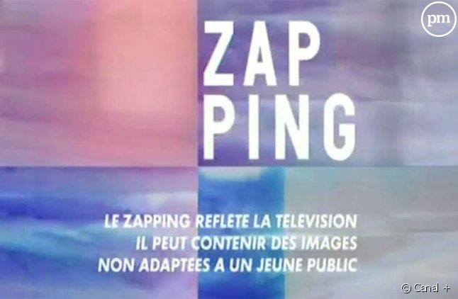 "Ancien habillage du ""Zapping""."
