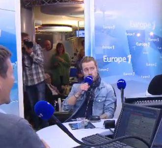 Julien Doré dans la matinale d'Europe 1.
