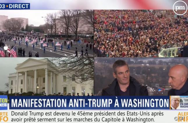 L'investiture de Trump très suivie sur BFMTV